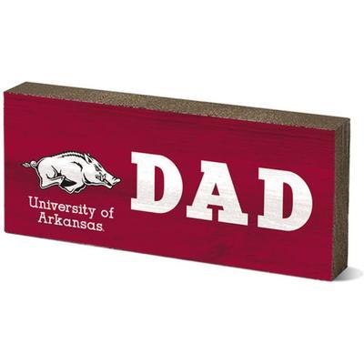 Arkansas Legacy Dad Mini Table Block