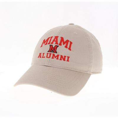 Miami Legacy EZA Alumni Adjustable Hat KHAKI