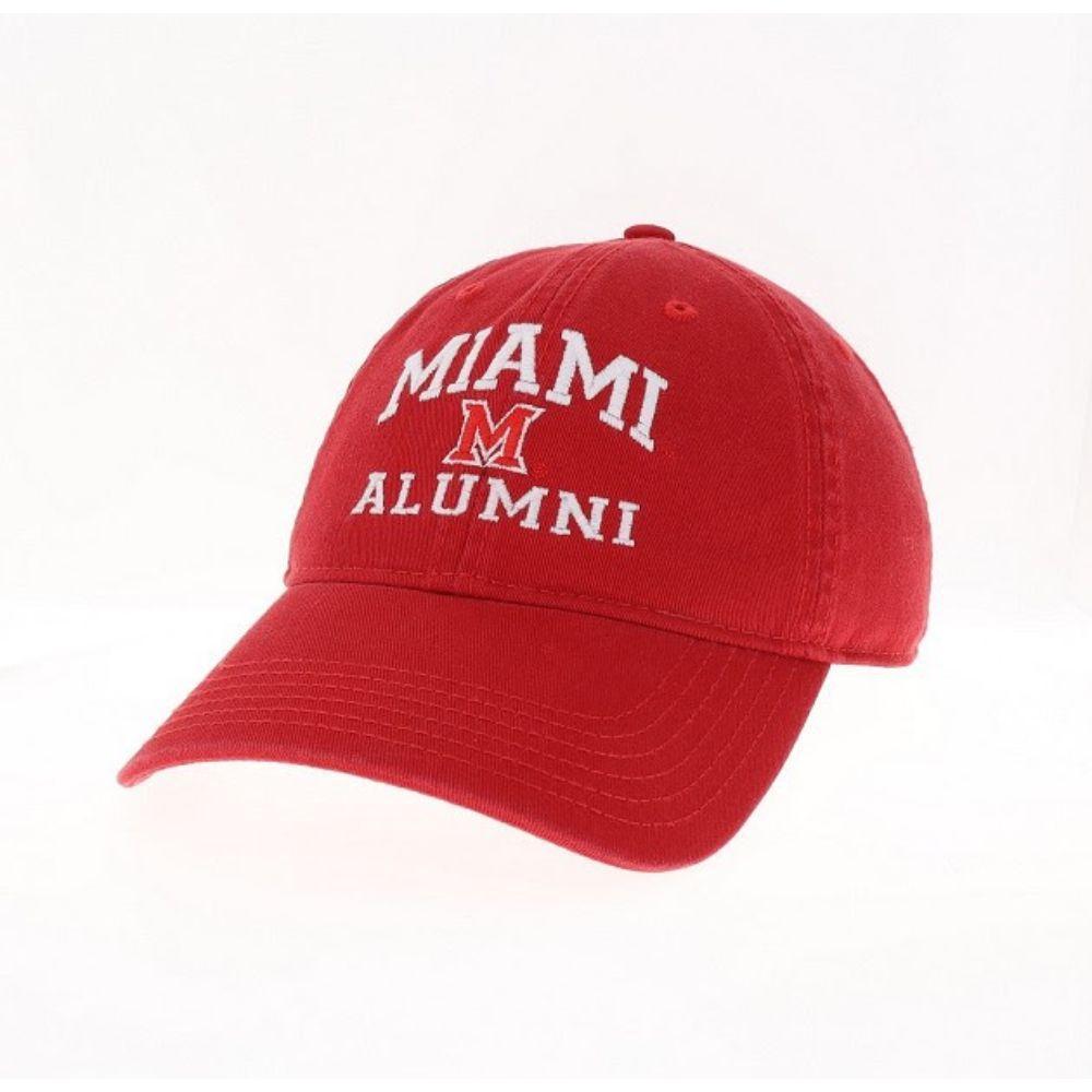 Miami Legacy Eza Alumni Adjustable Hat