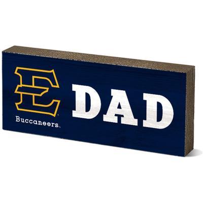 ETSU Legacy Dad Mini Table Block