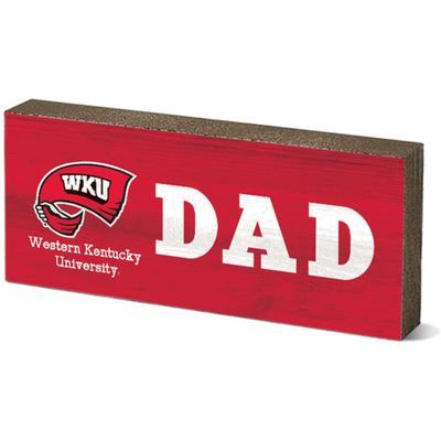 Western Kentucky Legacy Dad Mini Table Block