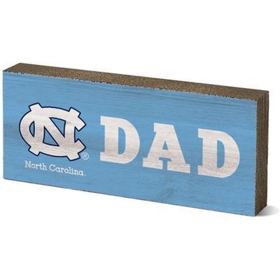 UNC Legacy Dad Mini Table Block