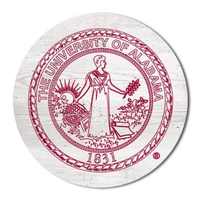 Alabama Legacy 2.5 X 2.5 School Seal Magnet