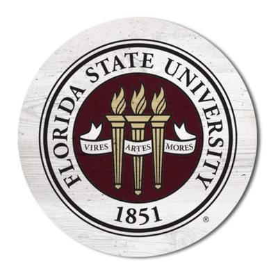 Florida State Legacy 2.5 X 2.5 School Seal Magnet