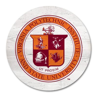 Virginia Tech Legacy 2.5 X 2.5 School Seal Magnet