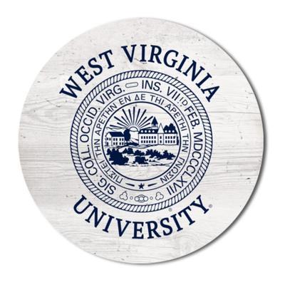 West Virginia Legacy 2.5 X 2.5 School Seal Magnet