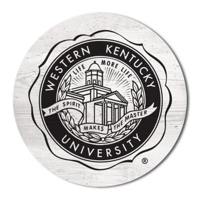 Western Kentucky Legacy 2.5 X 2.5 School Seal Magnet