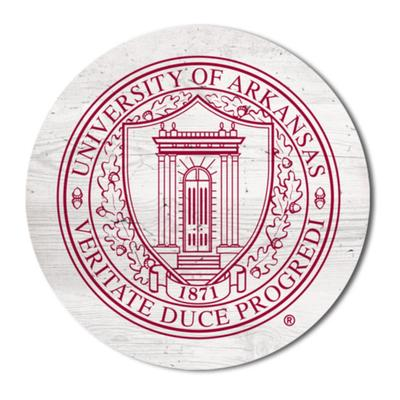 Arkansas Legacy 2.5 X 2.5 School Seal Magnet
