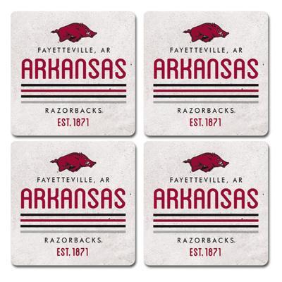 Arkansas Legacy 4pk Parallel Coaster