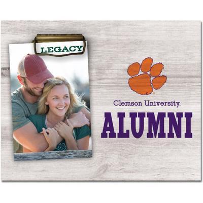 Clemson Legacy Alumni Memento Photo Holder