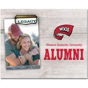 Western Kentucky Legacy Alumni Memento Photo Holder
