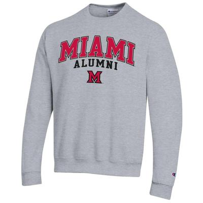 Miami Champion Arch Alumni Fleece Crew