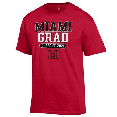 Miami Champion Class of 2021 Grad Tee