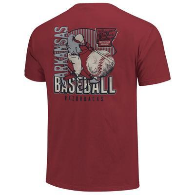 Arkansas Vault Baseball Short Sleeve Comfort Colors Tee