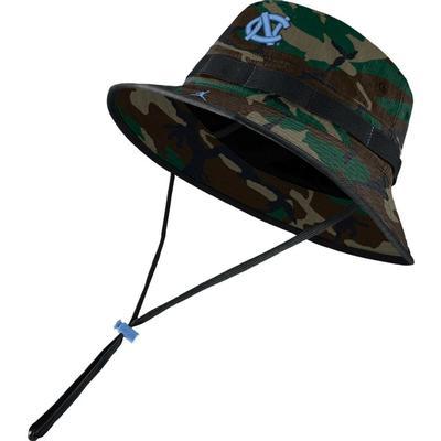 UNC Men's Nike Jordan Brand Sideline Dry Bucket Hat