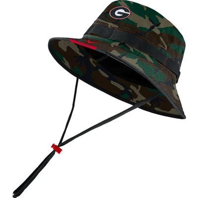 Georgia Men's Nike Sideline Dry Bucket Hat