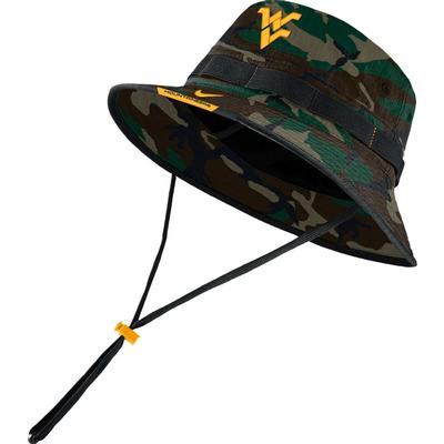 West Virginia Men's Nike Sideline Dry Bucket Hat
