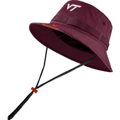 Virginia Tech Men's Nike Sideline Dry Bucket Hat