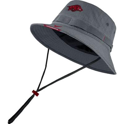 Arkansas Men's Nike Sideline Dry Bucket Hat
