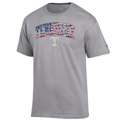 Tennessee Champion Arch Flag Fill Americana Tee