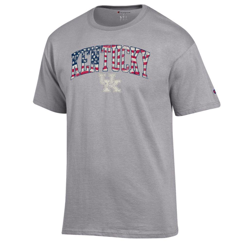 Kentucky Champion Arch Flag Fill Americana Tee