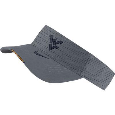 West Virginia Men's Nike Aero Visor