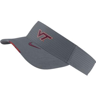Virginia Tech Men's Nike Aero Visor