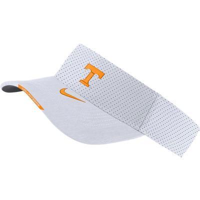 Tennessee Men's Nike Aero Visor WHITE