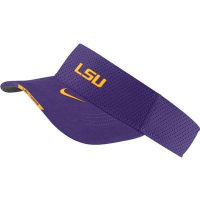 LSU Men's Nike Aero Visor