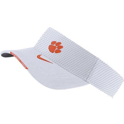 Clemson Men's Nike Aero Visor WHITE