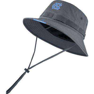 UNC Men's Nike Jordan Brand Dry Bucket Hat FLINT_GREY