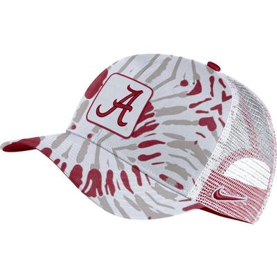 Alabama Men's Nike C99 Patch Festival Print Trucker Hat