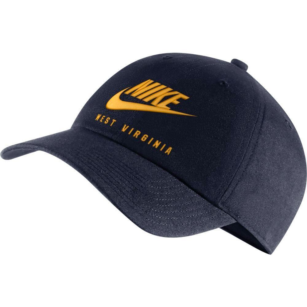 West Virginia Men's Nike H86 Futura Adjustable Hat