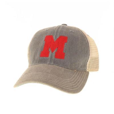 Miami Legacy Vault Block M Trucker Hat