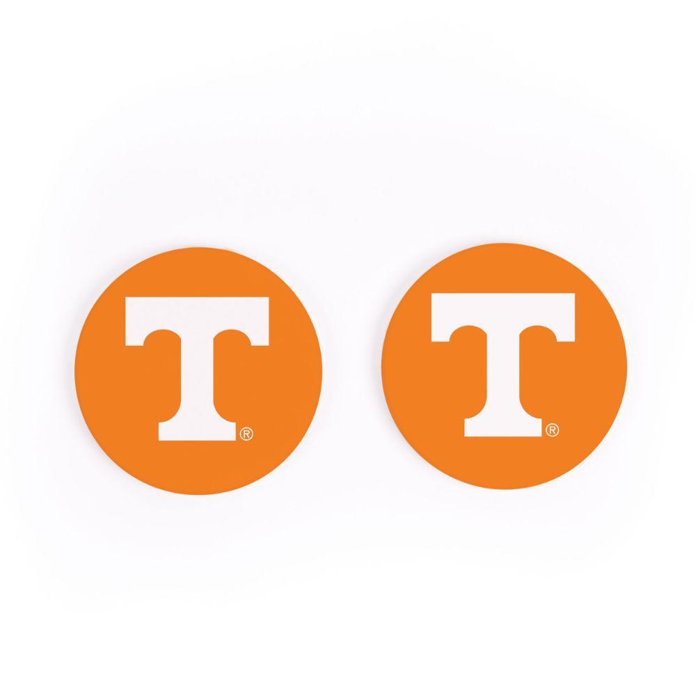 Tennessee 2pk Power T Car Coaster