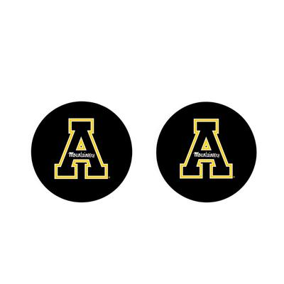 Appalachian State 2pk Block A Car Coaster