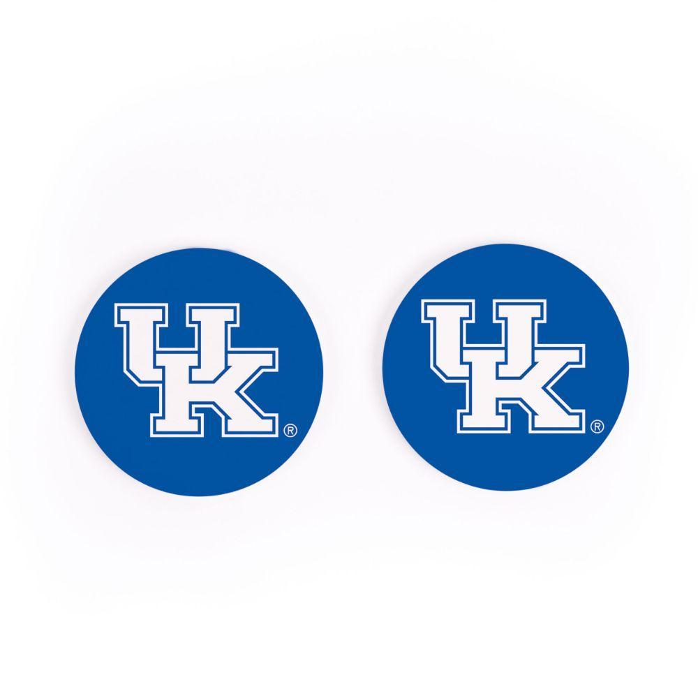 Kentucky 2pk Car Coaster