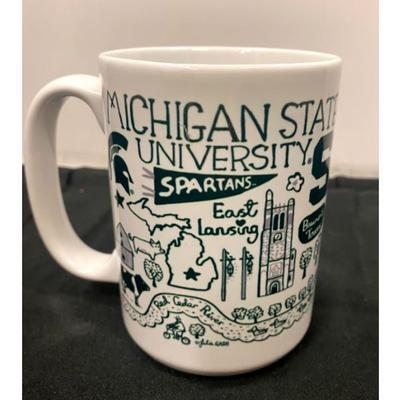 Michigan State Julia Gash 15oz Grande Mug