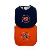 Auburn 2 Pack Baby Bibs