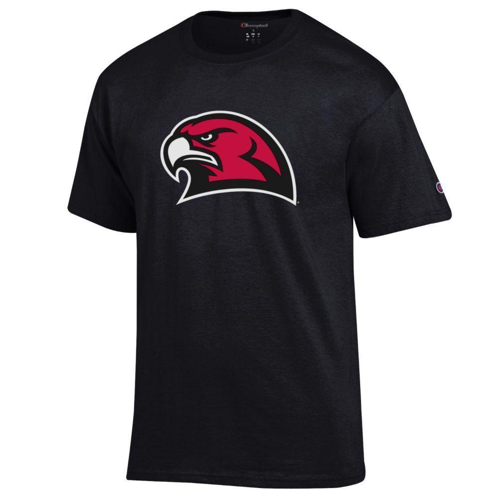 Miami Champion Giant Redhawk Logo Tee