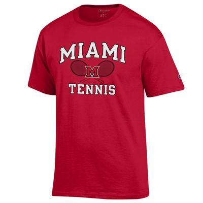 Miami Champion Basic Tennis Tee