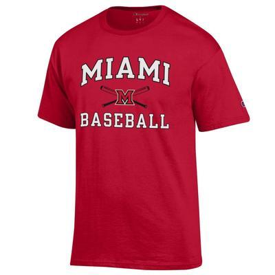 Miami Champion Basic Baseball Tee