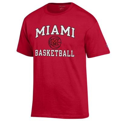 Miami Champion Basic Basketball Tee