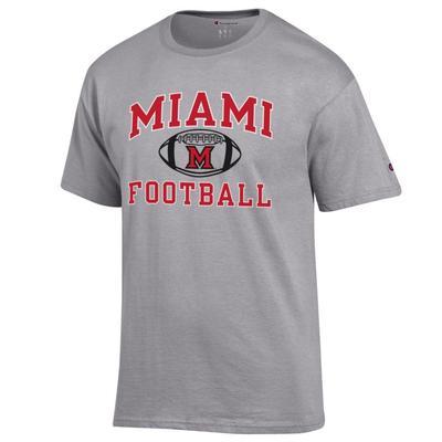 Miami Champion Basic Football Tee