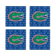 Florida 4pk Primary Repeat Logo Coaster