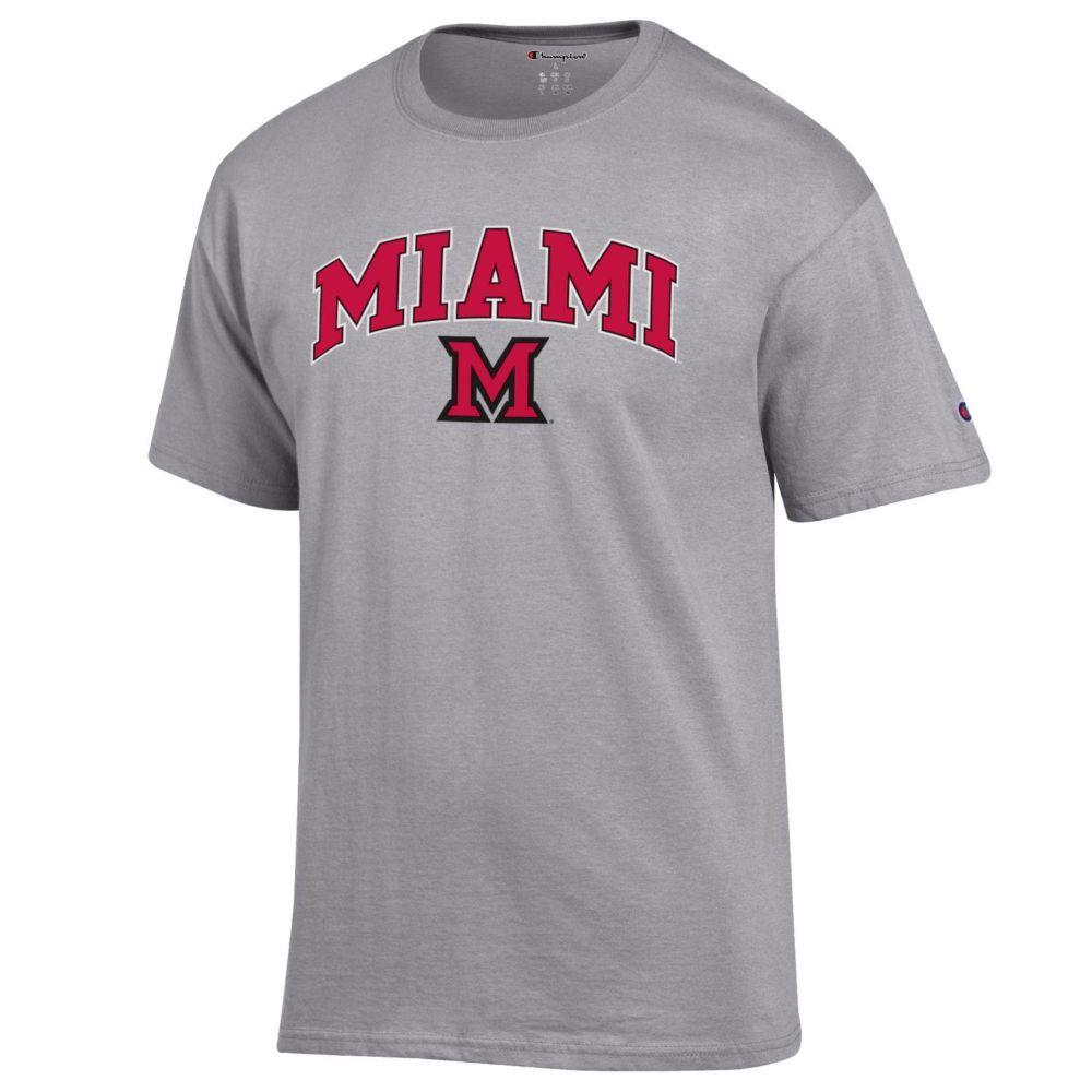 Miami Champion Arch Logo Tee
