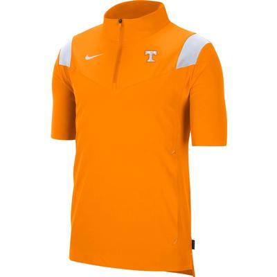 Tennessee Men's Nike Coach Lightweight Short Sleeve Jacket