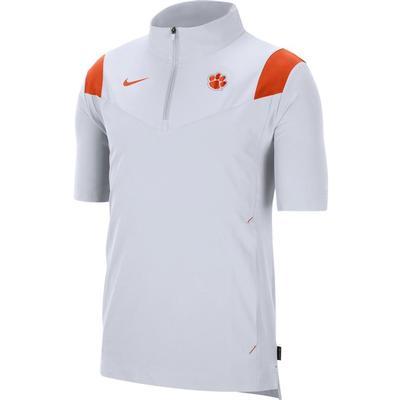 Clemson Men's Nike Coach Lightweight Short Sleeve Jacket
