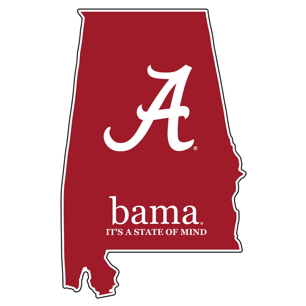 Alabama State Of Mind Decal 4