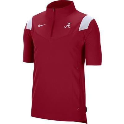 Alabama Men's Nike Coach Lightweight Short Sleeve Jacket